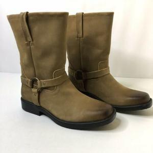 NWOT Frye Womens Harness Tan Leather WESTERN Boots